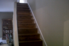 Spice Brown Staircase